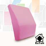 [輕鬆睡-EzTek]釋壓記憶靠墊-粉紅色