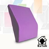 [輕鬆睡-EzTek]釋壓記憶靠墊-淡紫色