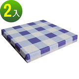 【3色可選】和室沙發(聚合棉)坐墊/椅墊/座墊(2入/組)