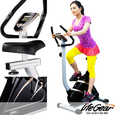 再送組裝(限西半部)↘【來福嘉 LifeGear】20390 歐風豪華健身磁控車