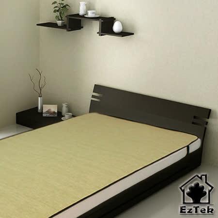 [輕鬆睡-EzTek] 涼感!和風紙纖蓆-單人加大(草綠色)