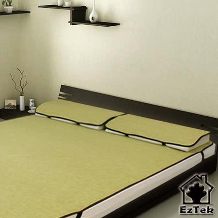 [輕鬆睡-EzTek] 涼感!和風紙纖枕套-2入(草綠色)
