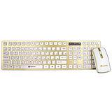 KINYO 2.4GHz 時尚無線鍵盤滑鼠組(GKBM-885)