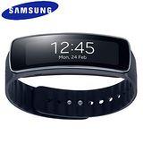 Samsung 三星 Gear Fit (R350) 簡約時尚風智慧型手錶 黑