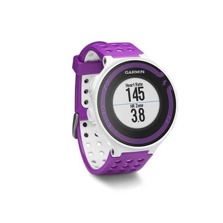 GARMIN Forerunner 220 進階級跑步腕錶-紫白