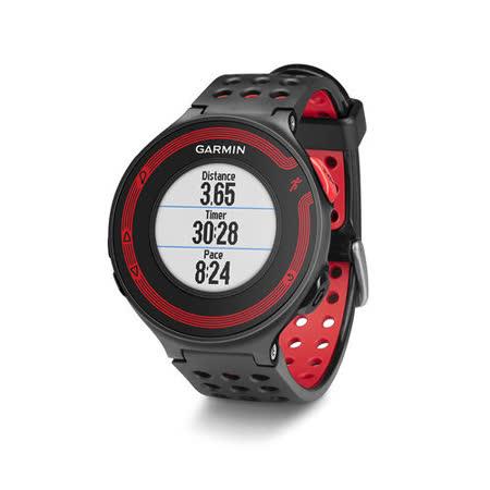 GARMIN Forerunner 220 進階級跑步腕錶-黑紅