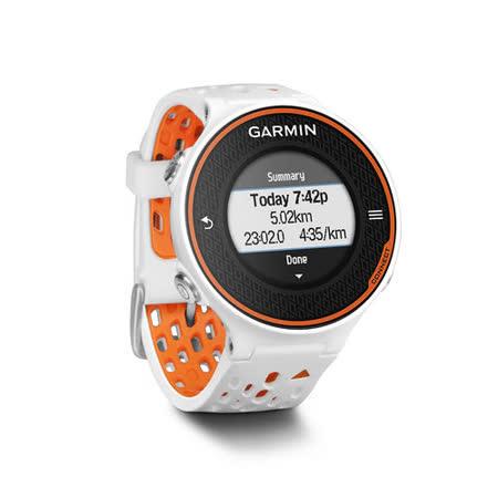 GARMIN Forerunner 620 玩家級跑步腕錶-橙白
