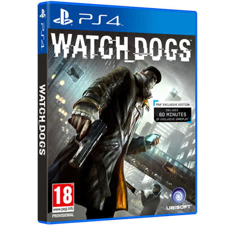 SONY PS4遊戲《看門狗Watch_Dogs》-亞洲中文版