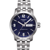 TISSOT PRC200 Powermatic 80 時尚菁英機械腕錶(藍/39mm) T0554301104700
