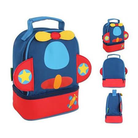 美國【Stephen Joseph】童趣造型保溫餐袋(飛機)