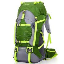 PUSH!登山戶外用品55+5L專業型登山背包自助旅行背包雙肩背包贈防雨罩