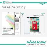 NILLKIN LG L70 D320 超清防指紋保護貼 (含鏡頭貼套裝版)