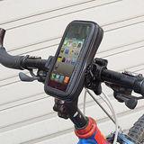 【iphone專用】機車/自行車專用防水包手機座