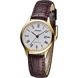 ORIENT 東方 古典羅馬典雅女腕錶 FSZ3N009W