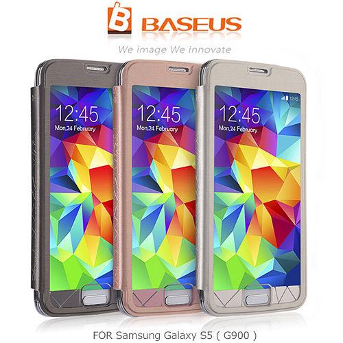 BASEUS 倍思 Samsung Galaxy S5 G900 琉璃皮套