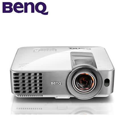BenQ SVGA 3D DLP短焦投影機(MS619ST)贈原廠3D眼鏡一支+HDMI線