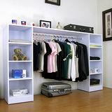 (單吊衣桿+八大格)-吊衣櫃/吊衣櫥-40Dx200Wx121H/公分