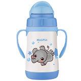 MoliFun魔力坊 不鏽鋼真空兒童吸管杯/學習杯260ml-淘氣象