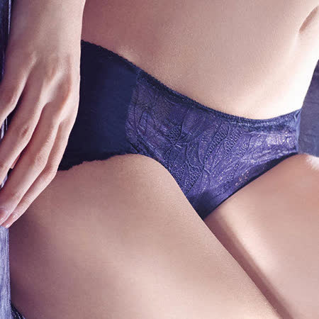 【華歌爾】X極塑系列M-3L中腰平口褲(深邃藍)