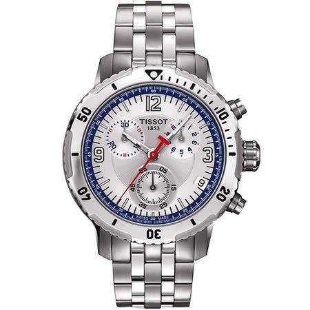 TISSOT PRS200 競賽傳奇計時腕錶-41mm