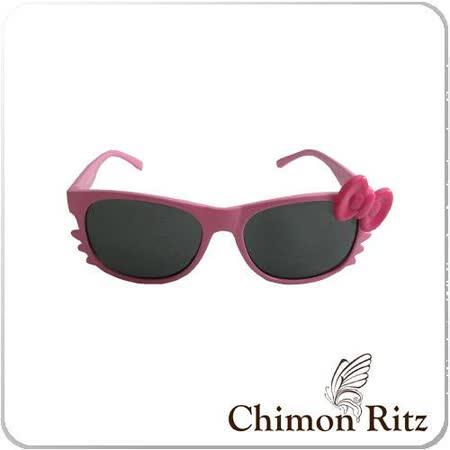 【Chimon Ritz】帥氣貓兒童太陽眼鏡-粉紅