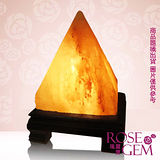 【瑰麗寶】精選雲彩金字塔造型鹽晶燈