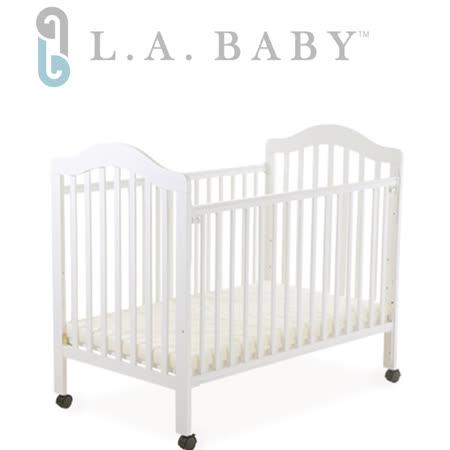 L.A. Baby 米爾頓嬰兒大床白色