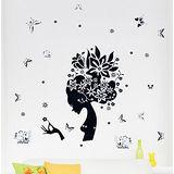 【PS Mall】可移動創意裝飾組合牆面貼紙 壁貼 (J1165) DM57-0018