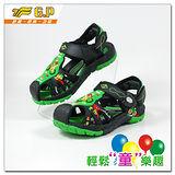 [GP]快樂童鞋-多功能護趾涼鞋-G9158B-60(綠色)共有四色