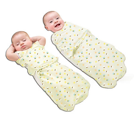 美國 Summer Infant 2合1聰明懶人育兒睡袋 (陽光蜜蜂)