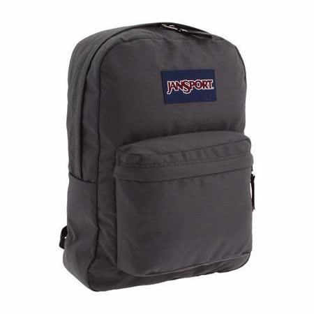 JanSport 2014時尚方邊簡緻銳黑灰色後背包【預購】