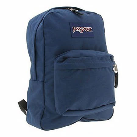 JanSport 2014時尚方邊簡緻深藍色後背包【預購】