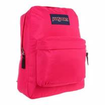 JanSport 2014時尚方邊簡緻桃紅色後背包【預購】