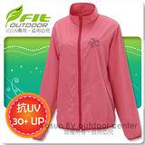 【維特 FIT】女新款 吸排抗UV防曬外套/透氣.輕量_ FS2301 玫紅色