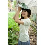 【Maya Collection森林系】專屬夏日的甜美三層娃娃領蕾絲襯衫