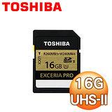 Toshiba 東芝 EXCERIA PRO 16G SDHC UHS-II 高速記憶卡
