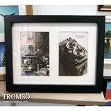 TROMSO-風格主義實木2入相框/黑色