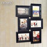 TROMSO相框-立體巴洛克6框/黑色