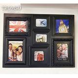 TROMSO相框-立體巴洛克7框/黑色