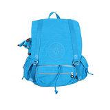 【Kipling】比利時品牌 探險活寶 大旅者束口後背包 天藍 K-374-5057-543