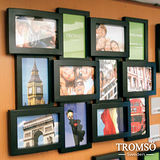 TROMSO相框-立體半弧形12框/黑色