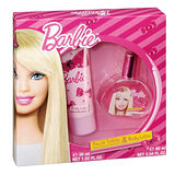 Barbie 時尚芭比 淡香水禮盒-彩妝版 (淡香水30ml/身體乳60ml)
