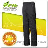 【維特 FIT】男新款 吸排抗UV兩截式功能長褲/ FS1805 灰褐色