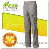 【維特 FIT】男新款 吸排抗UV兩截式功能長褲/ FS1805 卡其色