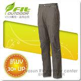 【維特 FIT】男新款 彈性吸排抗UV長褲/ FS1807 橄欖綠