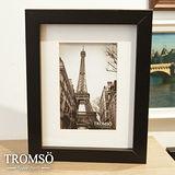 TROMSO-風格主義實木4X6平框/黑色