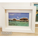 TROMSO-風格主義實木4X6平框/白色