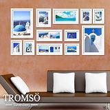 TROMSO時尚相框牆-12框組/白色