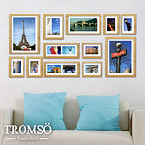 TROMSO時尚相框牆-12框組/原木色