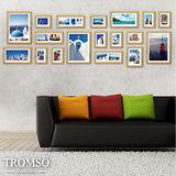 TROMSO時尚相框牆-18框組/原木色